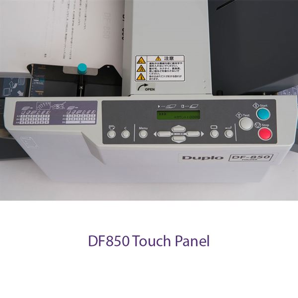 DF850-Touch-Panel